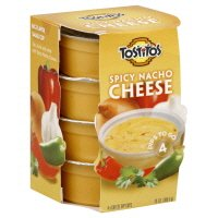 Tostitos Spicy Nacho Cheese Dip - 4 2.5-Oz Cups (Pack of 3) from Frito-Lay