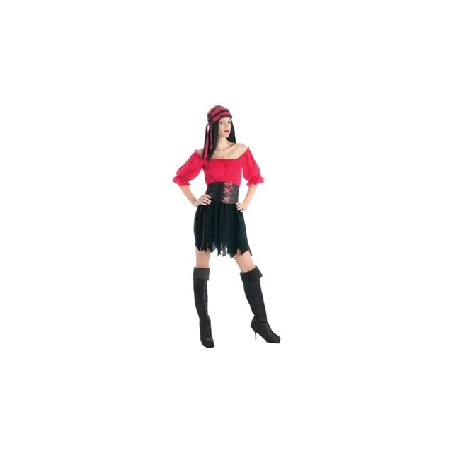 deeb0b89c2 Pirate Wench of the Seven Seas Womens Halloween Costume on PopScreen