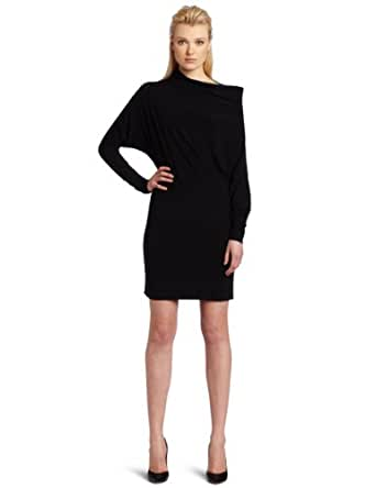 KAMALIKULTURE Women's All In One Dress, Black, X-Small