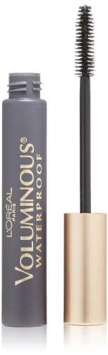 L'Oreal Paris discount duty free L'Oreal Paris Voluminous Original Waterproof Mascara, Black, 0.28 Ounces