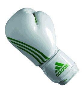 adidas Boxhandschuhe Box Fit weiss/grün, 12 OZ