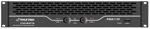 Pyle-Pro Pqa3100 19-Inch Rack Mount 3100-Watt Professional Power Amplifier