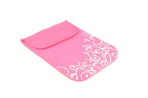 new-nwt-hot-pink-black-airwalk-neoprene-laptop-sleeve-bag14-15-rrp-2499-pink-colour