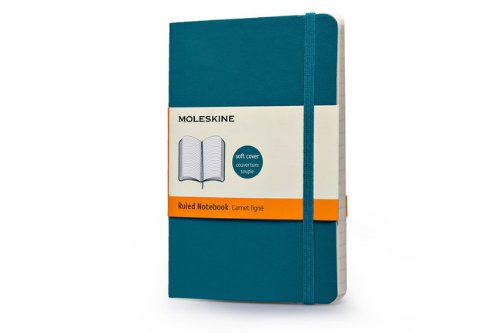 Moleskine Classic Colored Notebook, Pocket, Ruled, Underwater Blue, Soft Cover (3.5 x 5.5) PDF