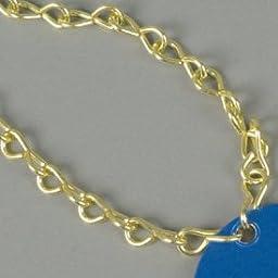 Brass Jack Chain Tag Fasteners #16 BRASS JACK CHAIN