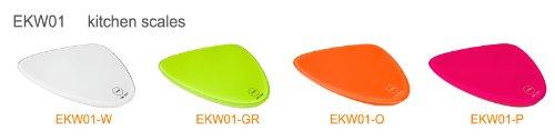 SoBuy EKW01-O Balance de cuisine électronique, Balance culinaire avec fonction tare, 5kg / 1g. Page Orange