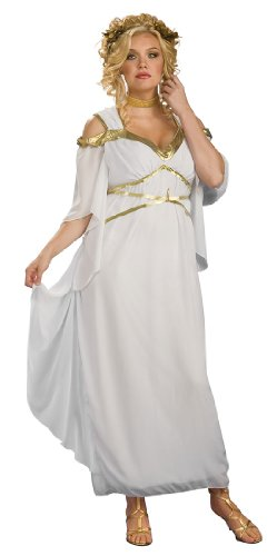 Plus Size Roman Goddess Costume - Womens Full