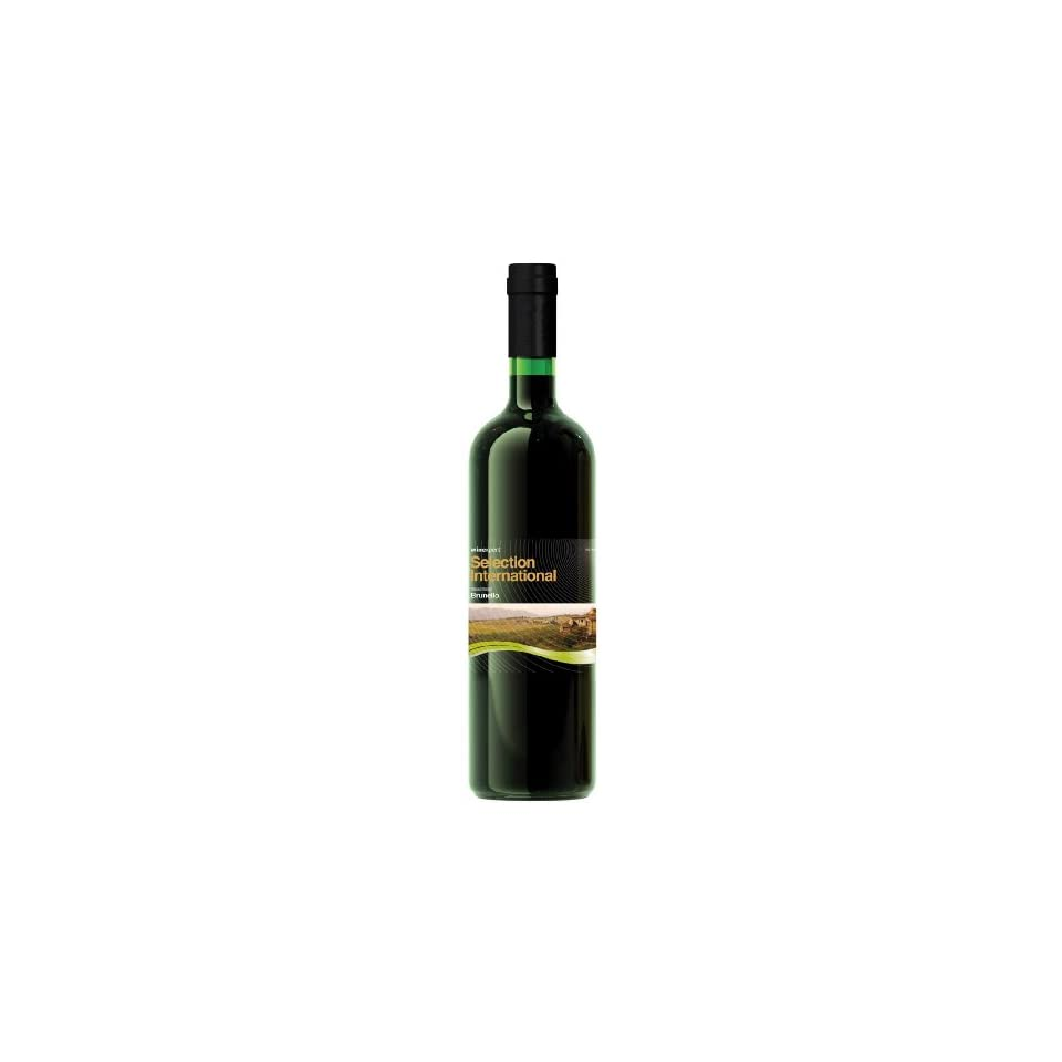 Italian Brunello with Crushed Grape Skins (Selection