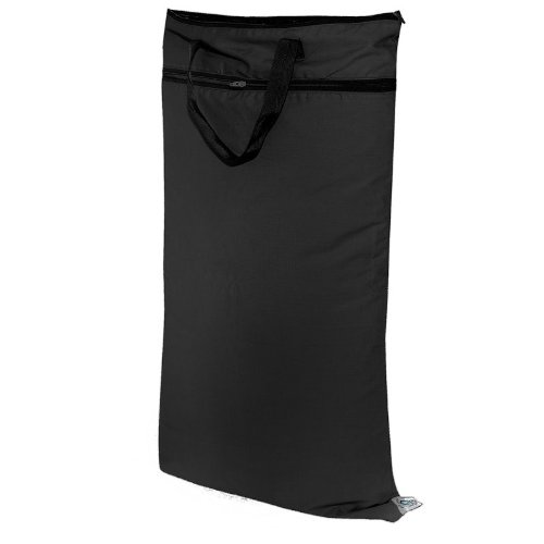 Planet Wise Hanging Diaper Wet/Dry Bag - Black