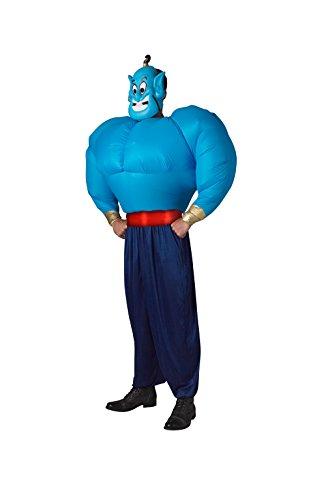 Rubie' s ufficiale Genie (Aladdin)-gonfiare Torso costume adulto Taglia Unica