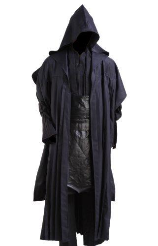 Star Wars Darth Maul Adult Costume Black Version,Men-Small (Darth Maul Adult Costume)