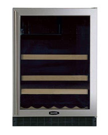 Marvel Chateau 24 inch Two-Zone Beverage and Wine Refrigerator- 6SBARE-
