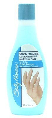 Sally Hansen Polish Remover 8 Oz. With Acetone (3-Pack)