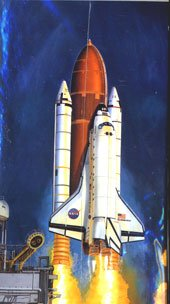 Minicraft 1/144 NASA Space Shuttle Endeavor w/External Fuel Tank & Boosters