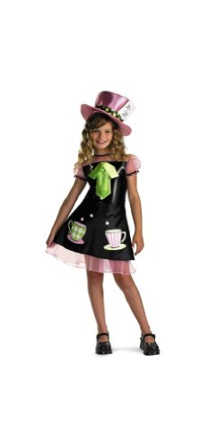 Disguise Girls Mad Hatter Costume