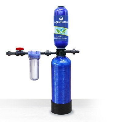 Salt Free Water Softener For Tankless Water Heaters Aquasana SimplySoft 20 in