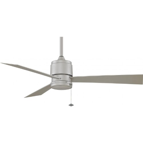 Fanimation Zonix 52 Inch Outdoor Ceiling Fan - Satin Nickel