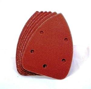 Toolzone 6pc Palm Sander Pads