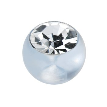 6mm Light Blue Gem Acrylic Replacement Ball