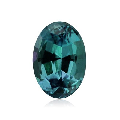 1.39 Cts of 8x6 mm AAA Oval Russian Created Alexandrite