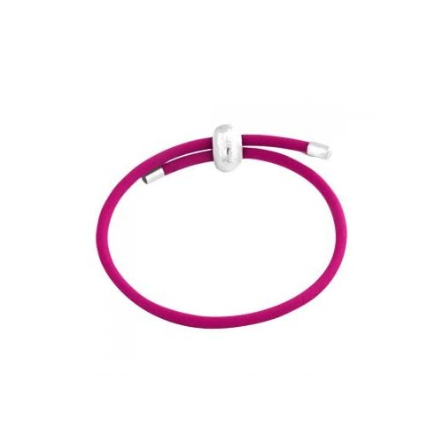 Amazon.com: Amore & Baci Junior Pink Rubber Bracelet: Charms: Jewelry