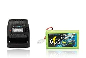 Educational Products - True Energy 9.6V/1600mAh Ni-MH RC Car Battery/Charger Combo -