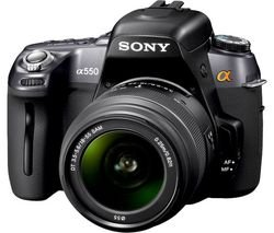 Sony DSLR-A550L Digital DSLR Camera with 18-55 Lens Kit