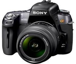 Sony DSLR-A550L Digital DSLR Camera  18-55 Lens