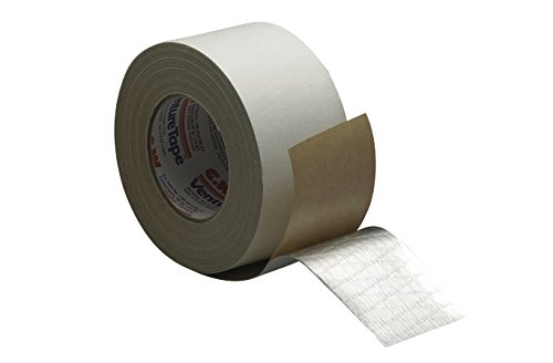 3M Venture Tape ASJ Facing Tape 1540CW White, 99 mm x 45.7 m (Pack of 12) (White Facing Insulation compare prices)