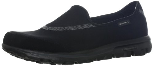 Skechers Performance Women's Go Walk Slip-On Walking Shoe,Black,8.5 M US