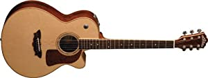 Washburn Timbercraft Series F52SWCEK Acoustic-Electric Guitar