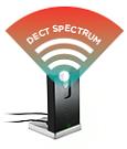 DECT spectrum wireless connectivity