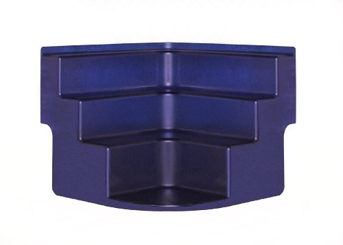 Corner Organizer Step Shelf-Cobalt Blue