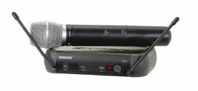 Shure PGX24/SM58 Handheld Wireless System, H6
