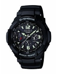 New Casio Solar Atomic G-shock Aviation Watch