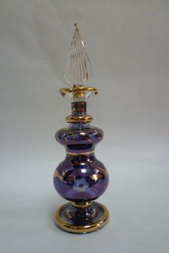 香水瓶 手工品 ブルー系