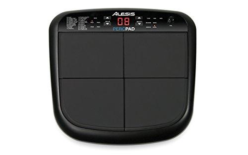 Alesis PercPad Percussione elettronica con 4 pad, ingresso per pedale e 25 suoni di batteria