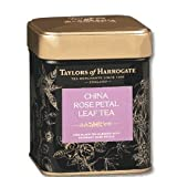 Taylors of Harrogate China Rose petal Loose Leaf Tea 125g (1 x Caddy)