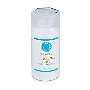 Martha Stewart Crafts Fine Glitter, Crystal, 4.58 Ounces
