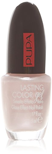 Pupa Lasting Color Gel 122 Like A Veil - Smalto Effetto Vetro - Glassy Effect Nail Polish
