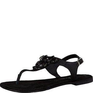 S. Oliver Shoes 5-5-28135-36/001, Sandali donna, nero (Black), 36