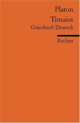 Timaios: Griech. /Dt.
