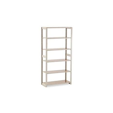 Tennsco RGL1536ASD 36 by 15 by 76-Inch Regal Shelving Add-On Unit with 6 Shelves, Sand