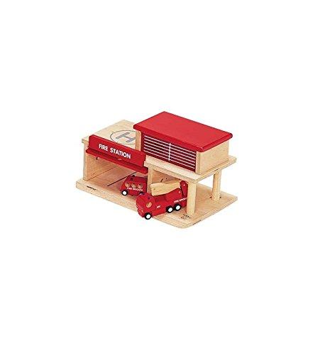4-Piece Fire Station Set