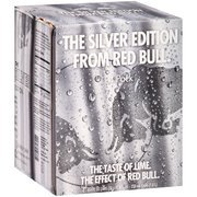 Red Bull The Silver Edition  Energy Drink, 8.4 fl oz, 4 pack(Case of 2)