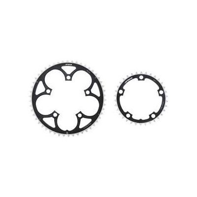 FSA Pro Road 10s 53t 130mm Black Chainring (use w/39t)