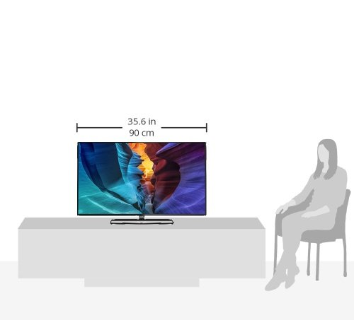 philips 40puk6400 12 102 cm 40 zoll fernseher. Black Bedroom Furniture Sets. Home Design Ideas