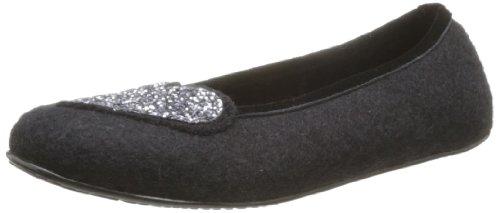 Giesswein Vechta Slippers Womens Black Schwarz (schwarz 022) Size: 3.5 (36 EU)