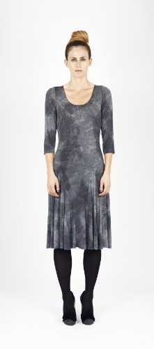 James Lakeland Dyed Three Quarter Sleeve Dress