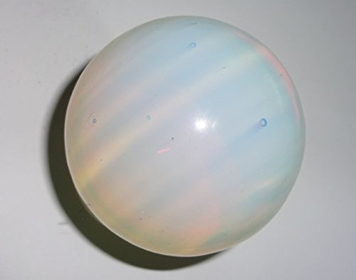 1pc 50mm Opalite Premium Large Crystal Healing Round Orb Gemstone Energy Sphere Balls (Opal Crystal Wand compare prices)
